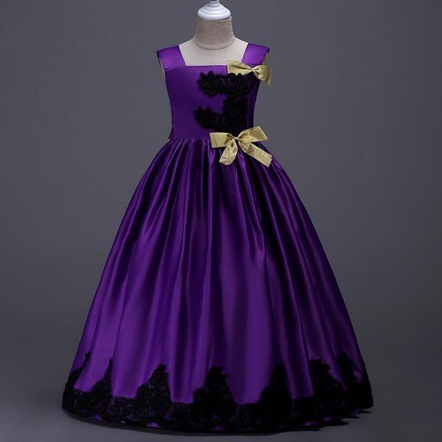 99b5c94778204 2018 Robes Pour Filles Princesse grand choix de couleurs 5 6 7 8 9 10 11
