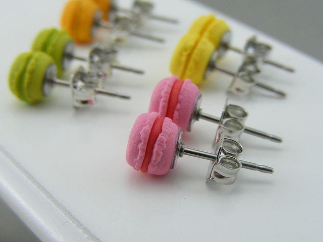 Micro Macaron EarringsBy Shay Aaron