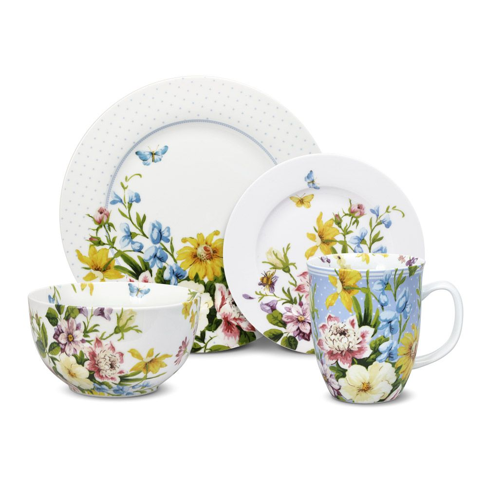 32 piece dinnerware set service for eight includes (8  sc 1 st  Pinterest & 32 Piece Dinnerware Set | Dinnerware Salad plates and Products