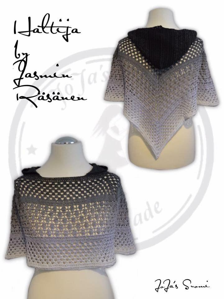 Haltija crochet neck warmer / poncho | Morben Design | Pinterest ...