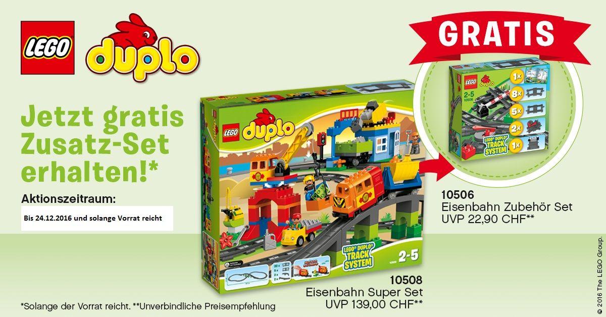 Lego Duplo Eisenbahn Superset Httpwwwspielzeug24chpilego