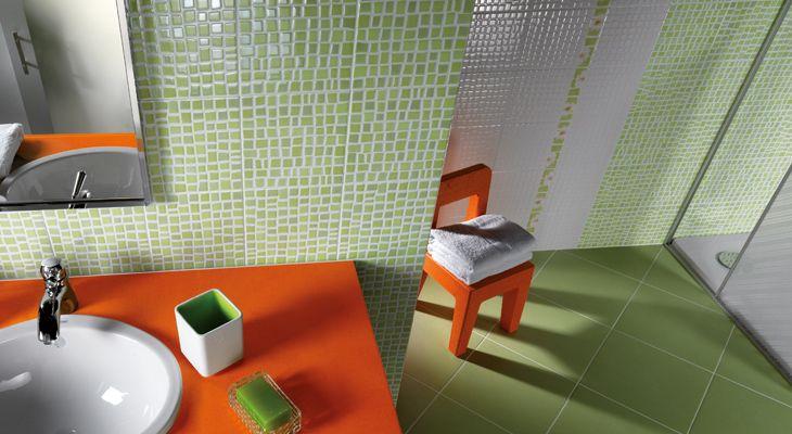 Rivestimento bagno effetto mosaico tropicana bagno