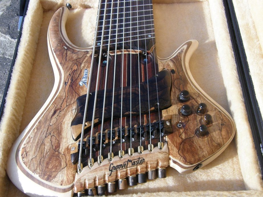 Custom 9 Strings Headless Bass Devious Mb9 Bass Guitar Bass Guitar Chords Guitar