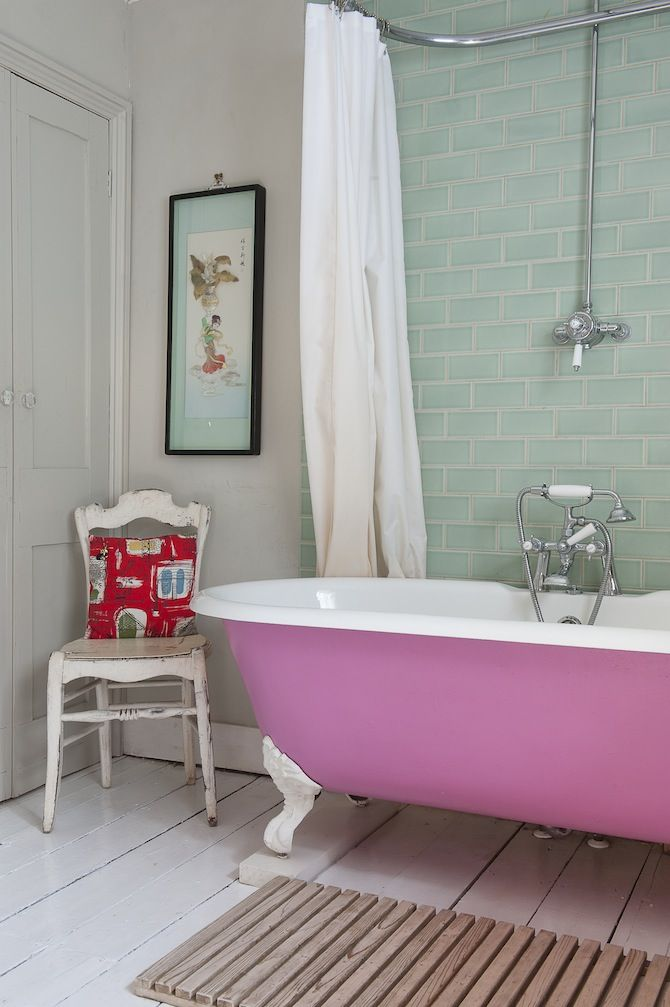 Wealden Times Painted in Hastings : pink bathtub decorating ideas - www.pureclipart.com