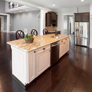 open kitchen sink instant hot water systems flat island lower ledge on ours to make one large countertop add seagrass armed chairs