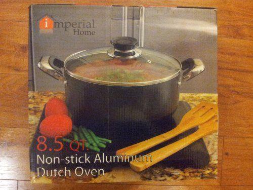 Aluminum Non-Stick Dutch oven with Lid - 8.5QT - http://cookware.everythingreviews.net/8218/aluminum-non-stick-dutch-oven-with-lid-8-5qt.html