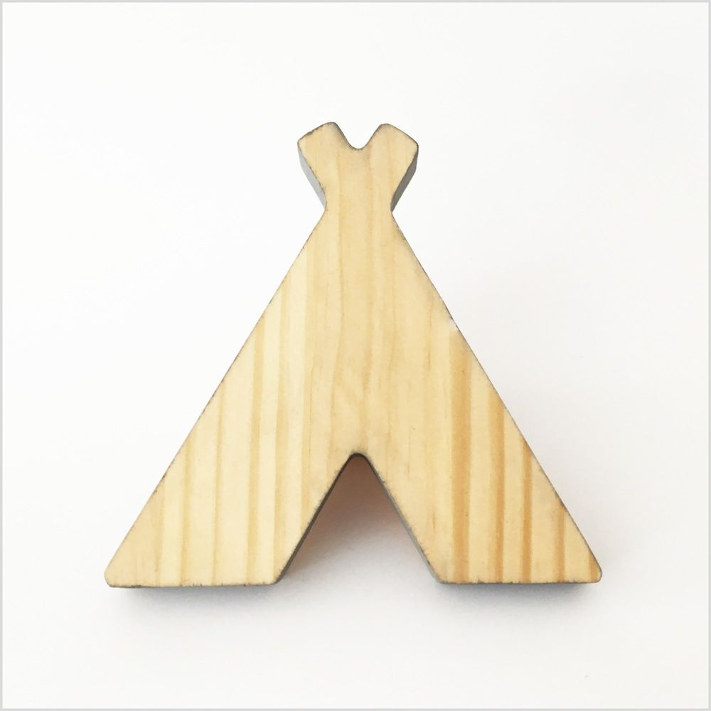 Image of Wooden Teepee Wall Hook | wooden | Pinterest | Pine, Walls ...