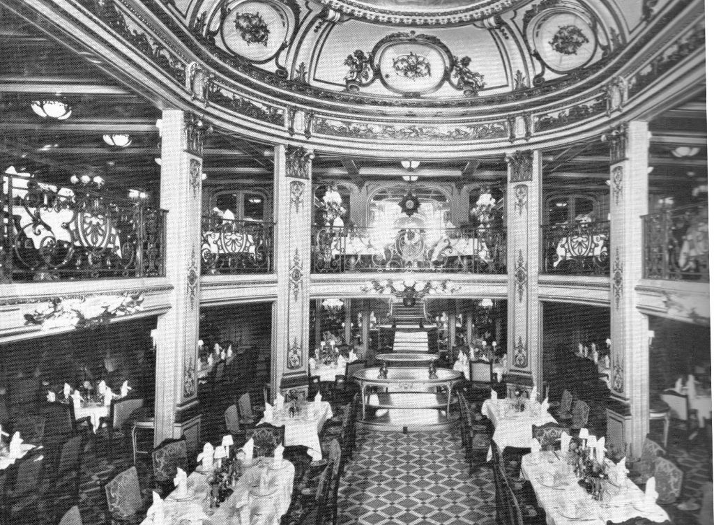 Titanic First Class Dining Room