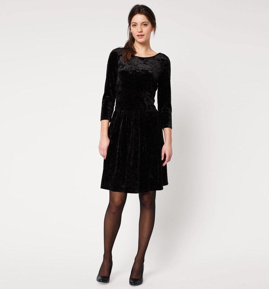 807e842f5 Vestido terciopelo-C A