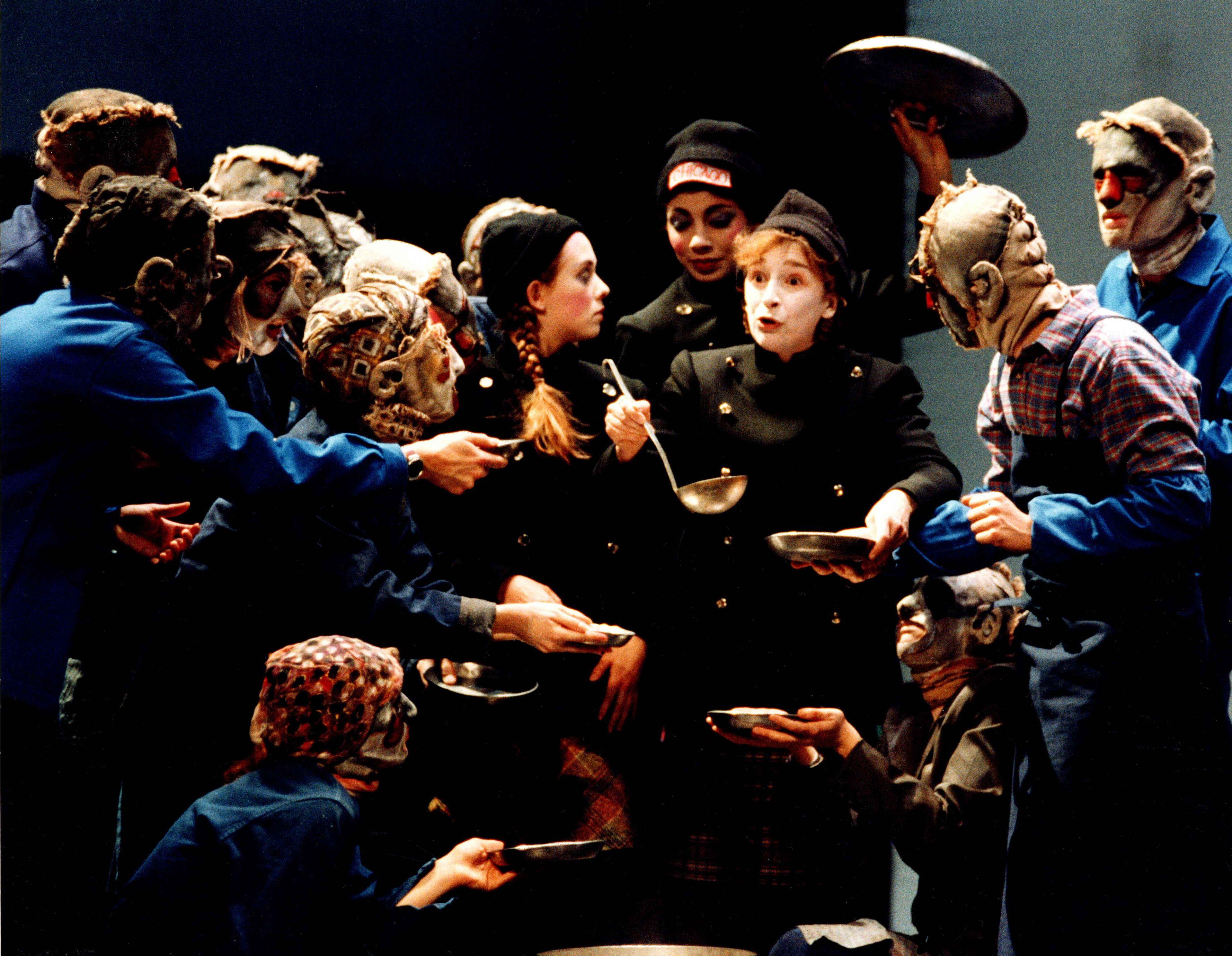 Sainte Jeanne Des Abattoirs Bertolt Brecht Alain Milianti C Ros Ribas 1999 Arte Samuel Beckett Dramatica
