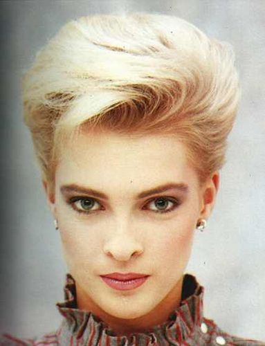 80s Hairstyle 60 In 2019 1980s Prom 80s Short Hair Short Hair