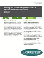 This white paper discusses the secret to winning customer experiences through digital technologies.