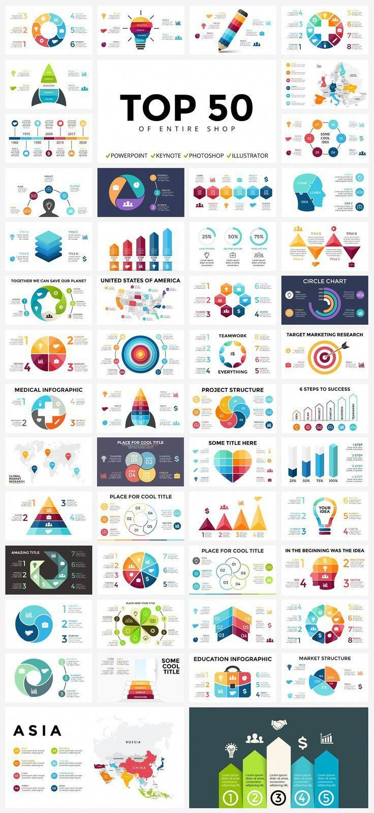 Business infographic 700 Infographic Templates + FREE