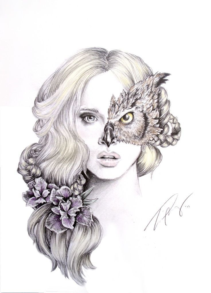 Mother Nature Portrait Drawing Google Search Sketches Art