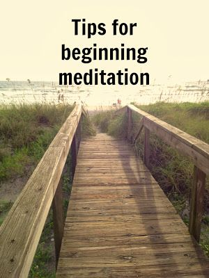Beginner Meditation Tipshttp://zenhabits.net/meditation-for-beginners-20-practical-tips-for-quieting-the-mind/  가는 코스가 사진에나옴, 길 끝에 글씨가