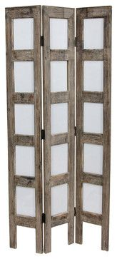 3 34 Ft Tall Narrow Photo Frame Room Divider Rustic Screens And
