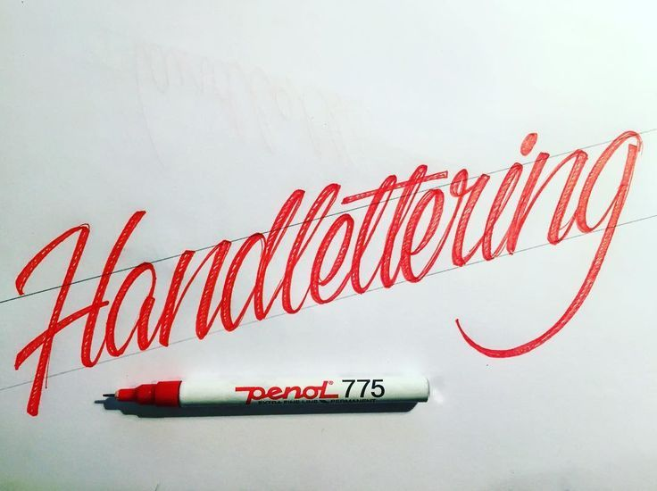 Best typography vs calligraphy images lettering