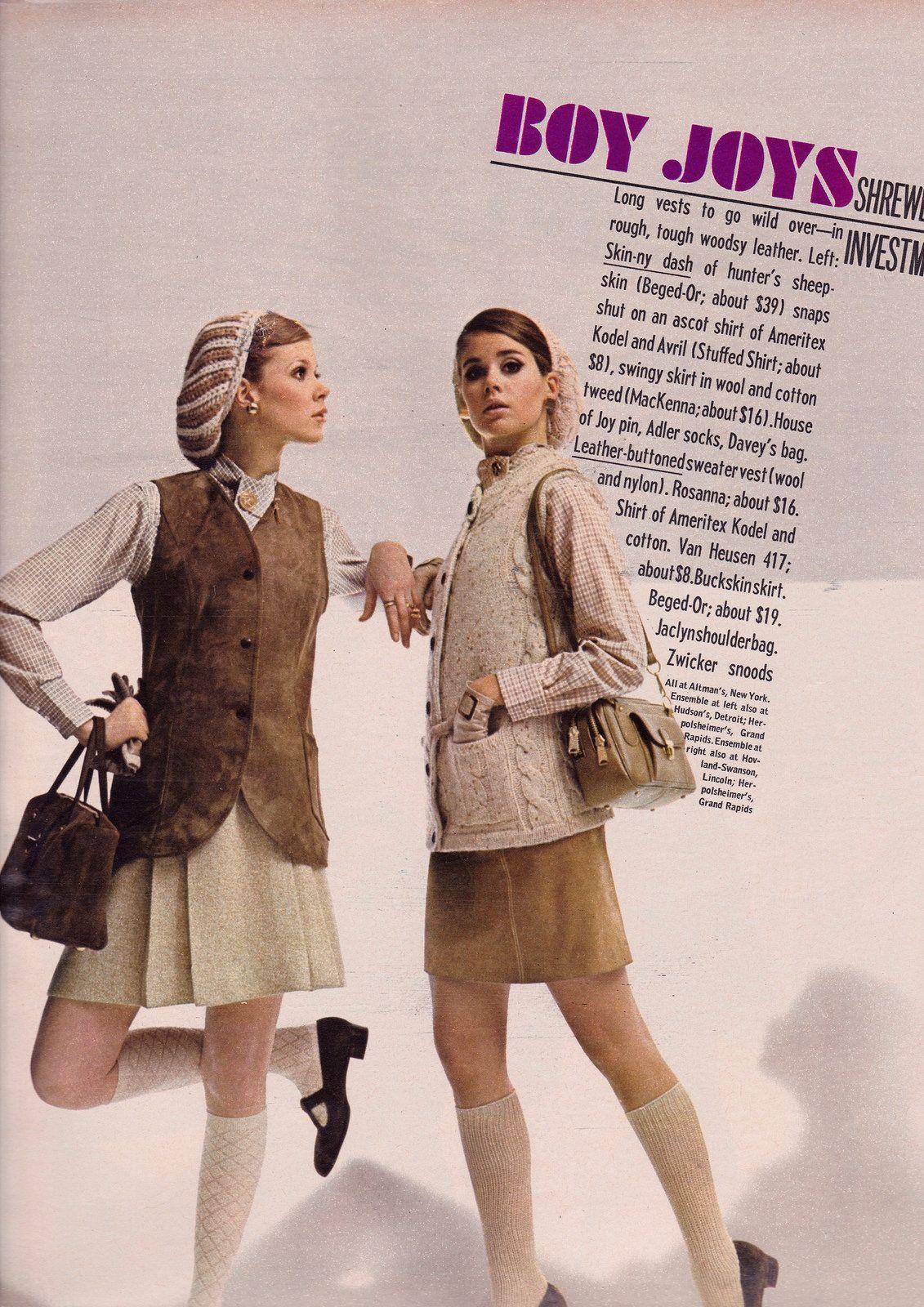 Seventeen Editorial shot by Ray Kellman 1968