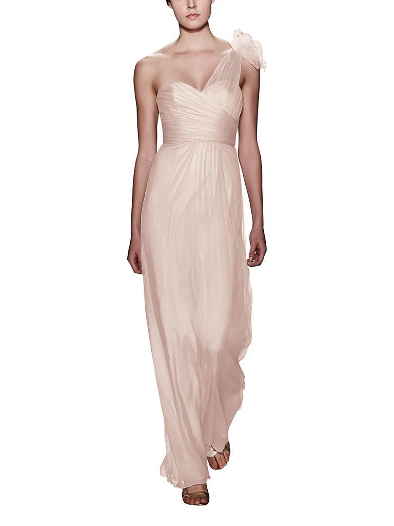 11857ae3c3c41 Take a look at this gorgeous Amsale Style G787C bridesmaid dress in light  pink fabric! Available in sizes 00-28 and tons of colors at Brideside. Shop  online ...