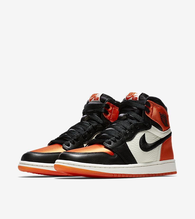 e6503903c57 Women's Air Jordan I (1) Retro 'Satin Shattered Backboard' -Release Date:  Saturday, May 5th 2018 -Price: $160