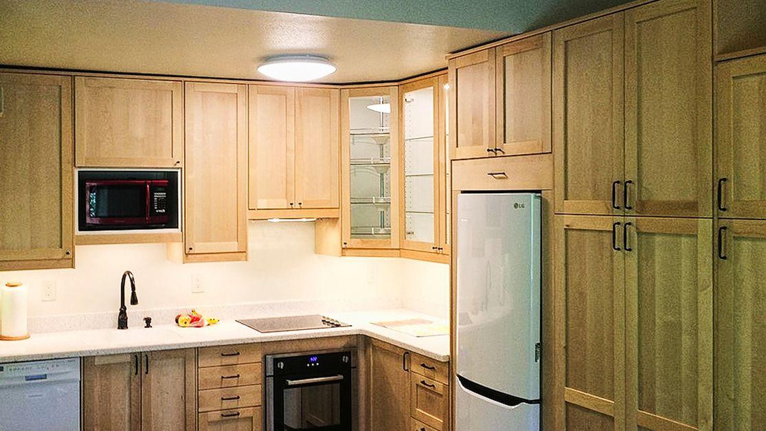 Sw Barnes Road Ikea Shaker Doors In Solid Birch Dendra Doors