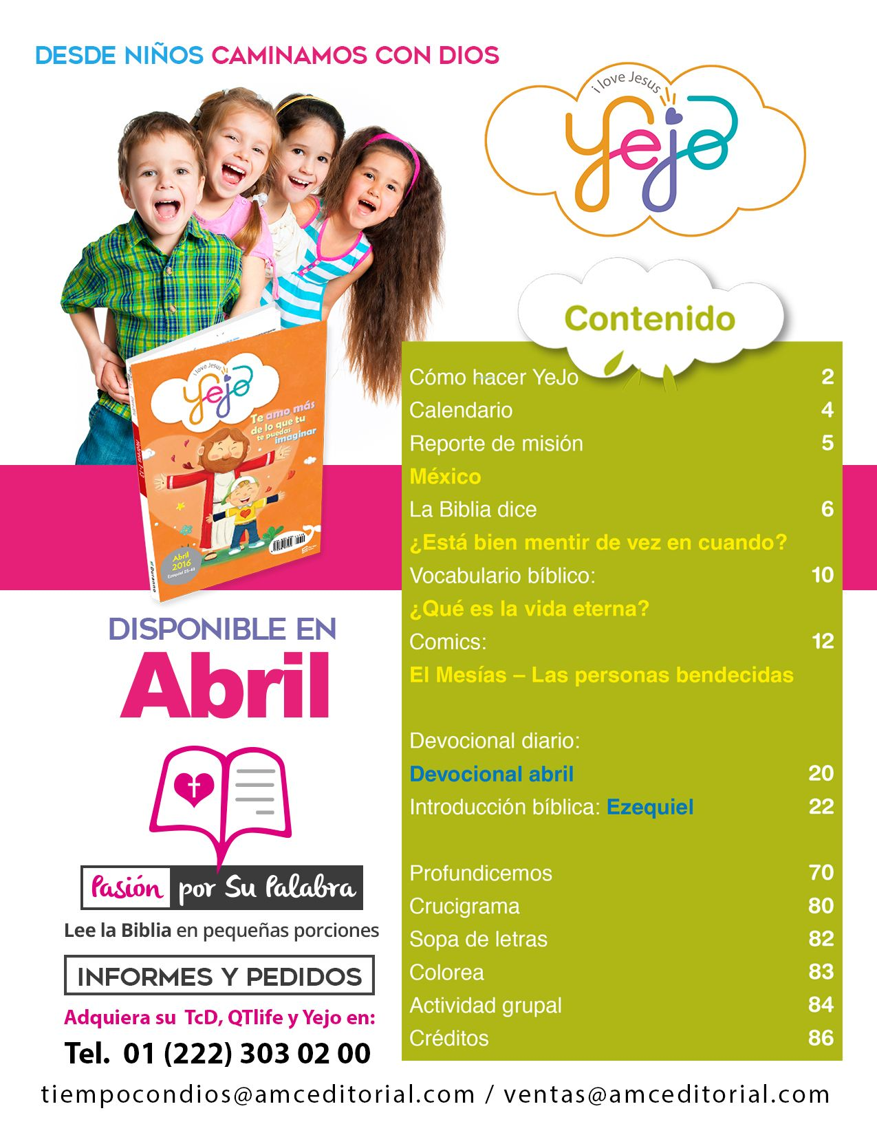 informes: 01(222) 3030200  http://www.amceditorial.com/contact.html