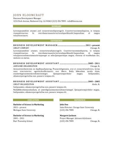 VIP - resume template Will Work for Food! Pinterest Vip and