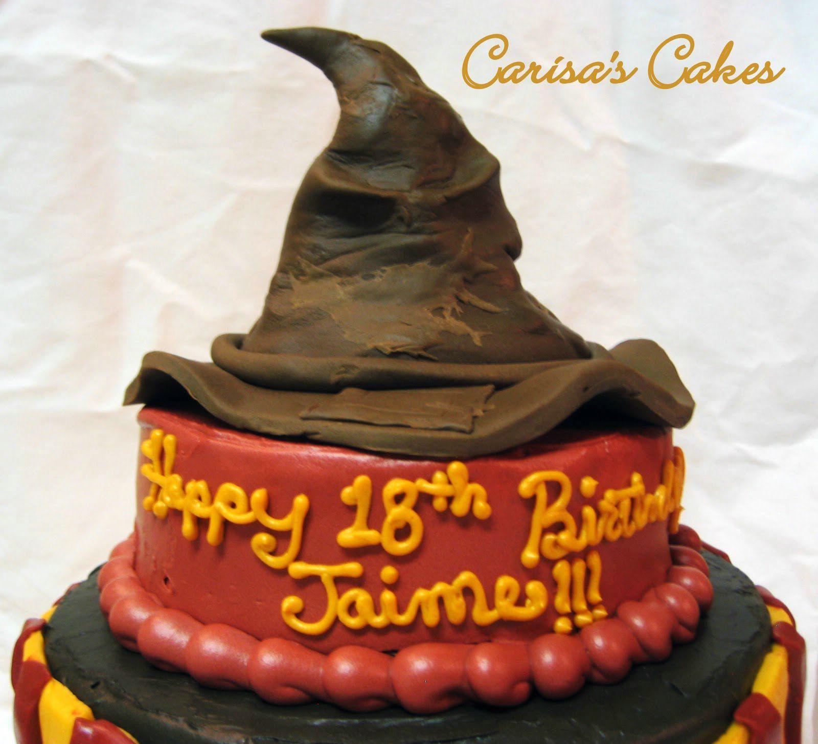 harry potter birthday cake movie