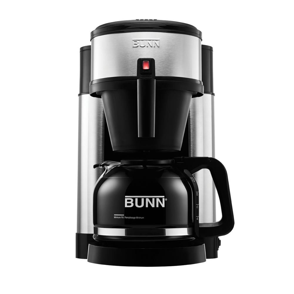 Bunn nhs 10cup home coffee brewer 449000002 best drip