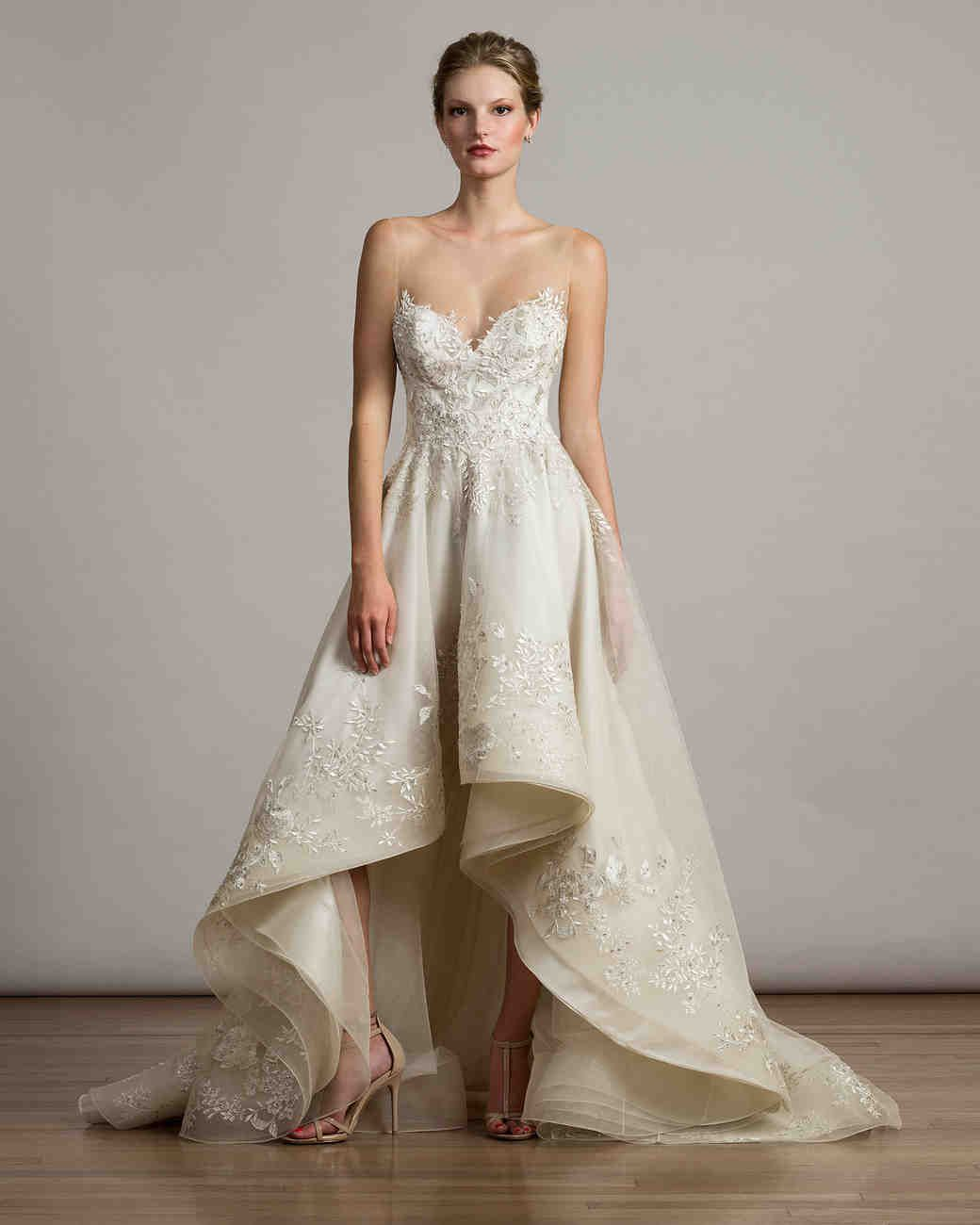 Liancarlo fall wedding dress collection martha stewart