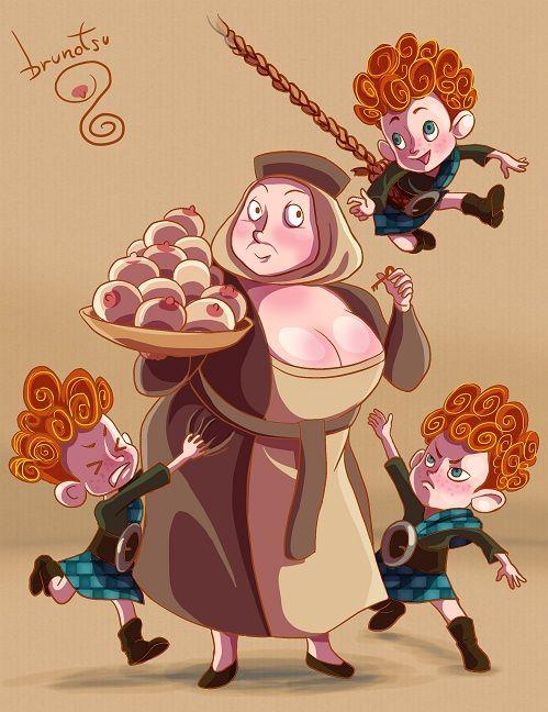 Brave Maudie Porn Cartoon - Maudie & the triplets