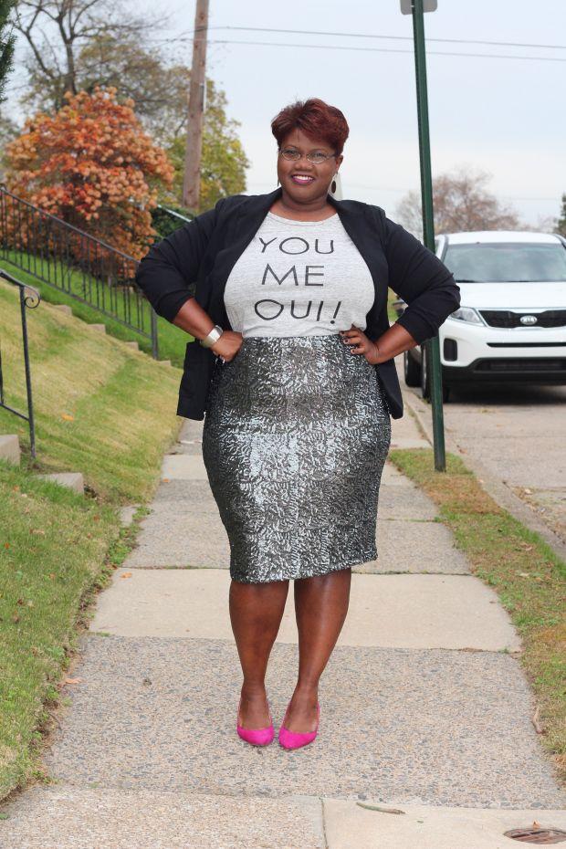 Plus Size Fashion   Plus Size Fashion   Pinterest   Black blazers ...