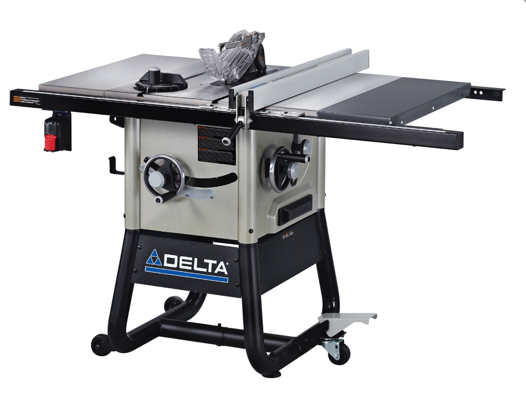 Delta Table Saw With Cast Iron Wings The Awesome