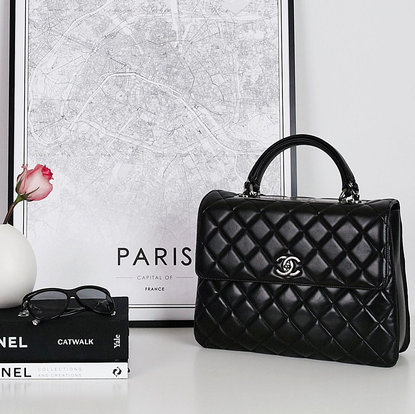 Chanel Trendy Bag Chanel Bag Fashion Style Sunglasses Productphotography Handbags Used Chanel Bags Chanel Bag Bags