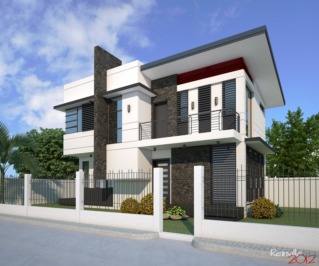 Mind Blowing Double Storey Family House Design