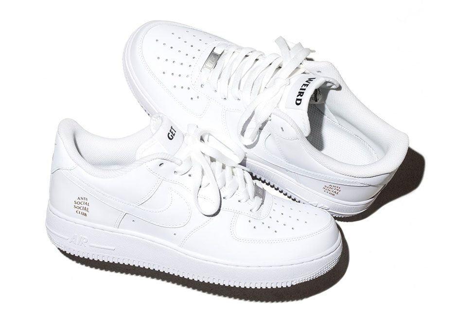 Anti Social Social Club x Nike Air Force 1 Low - SneakerNews.com