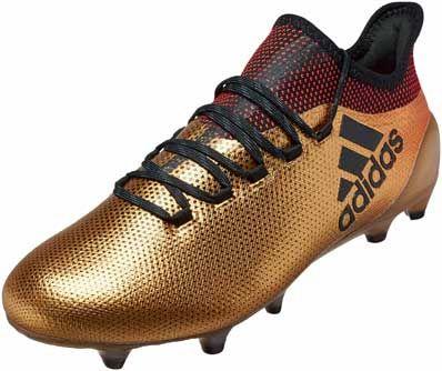 adidas X 17.1 | FG Tactile Oro Metallic Soccer Cleats | 17.1 Fútbol b63c24