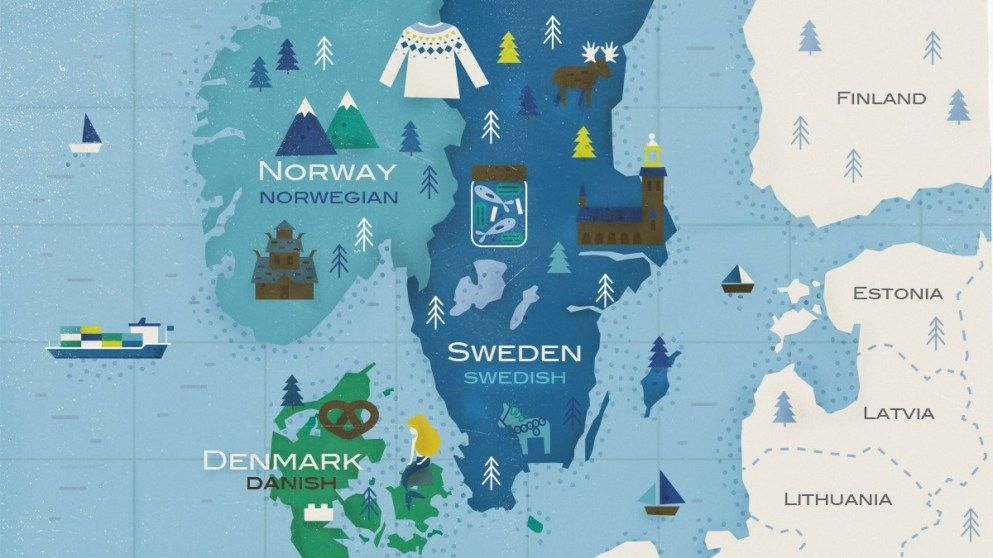 The Scandinavian Languages 3 For The Price Of 1 Babbel Magazine Norse Words Old Norse Scandinavian