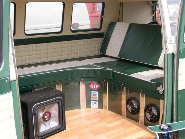 Image Result For Vw Bus Day Camper Interior Vw Interiors Pinterest Vw Camper Van Interior