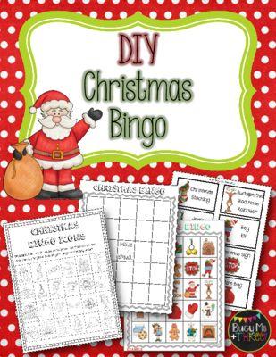 Christmas diy bingo game do it yourself from busy me plus three christmas diy bingo game do it yourself from busy me plus three on teachersnotebook solutioingenieria Images