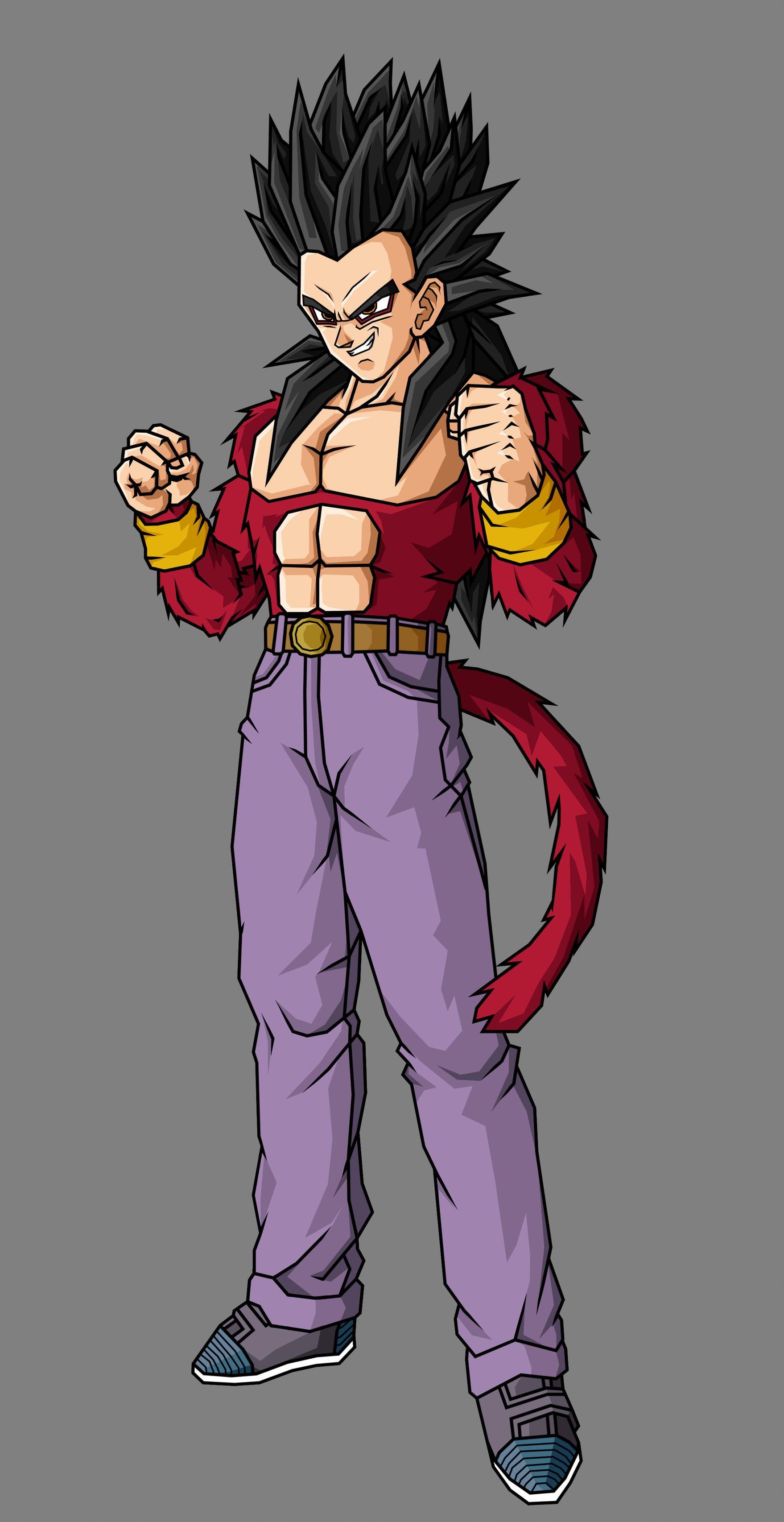 Goten Gt Ssj4 V4 By Theothersmen Anime Dragon Ball Super Dragon Ball Art Anime Dragon Ball