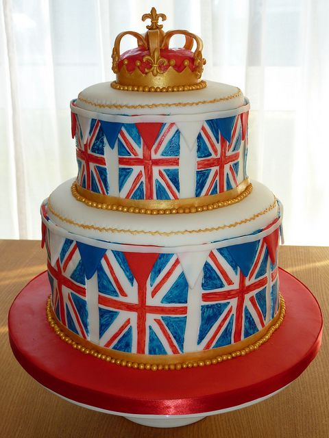 Terrific Union Jack Birthday Cake For A British Themed Party With Images Personalised Birthday Cards Xaembasilily Jamesorg