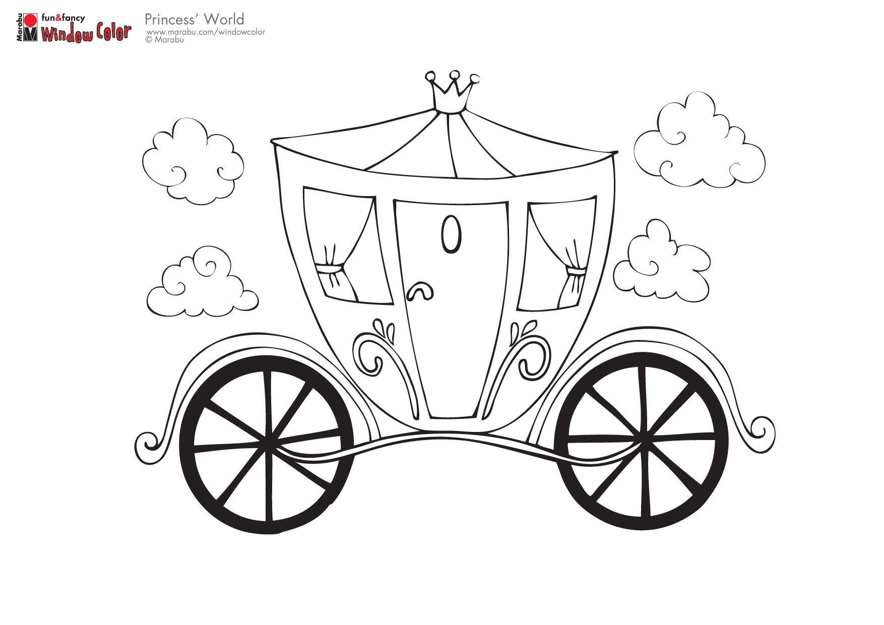 A Princess Coach Malvorlagen Vorlagen Ausmalbilder