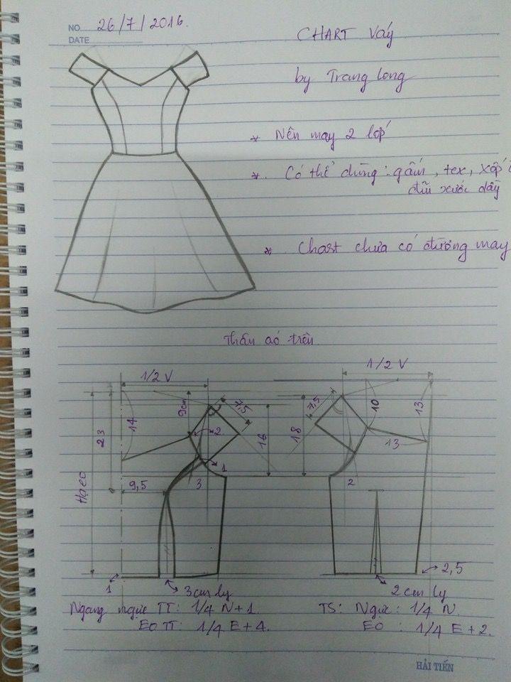 Vestido Simples Implementos Para Trazos Y Costuras