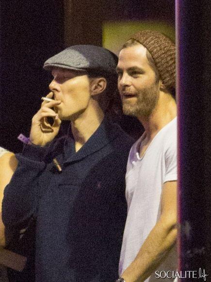 Chris Pine Smoking