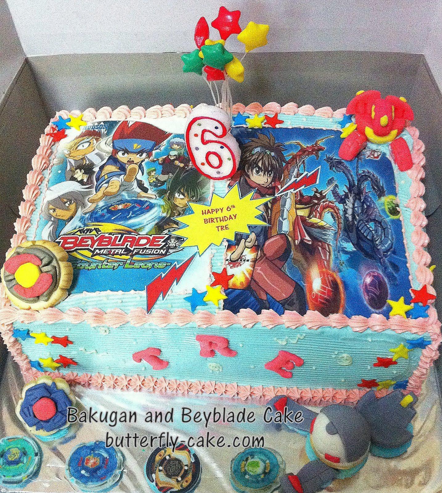 Beyblade B Day Cake Ideas