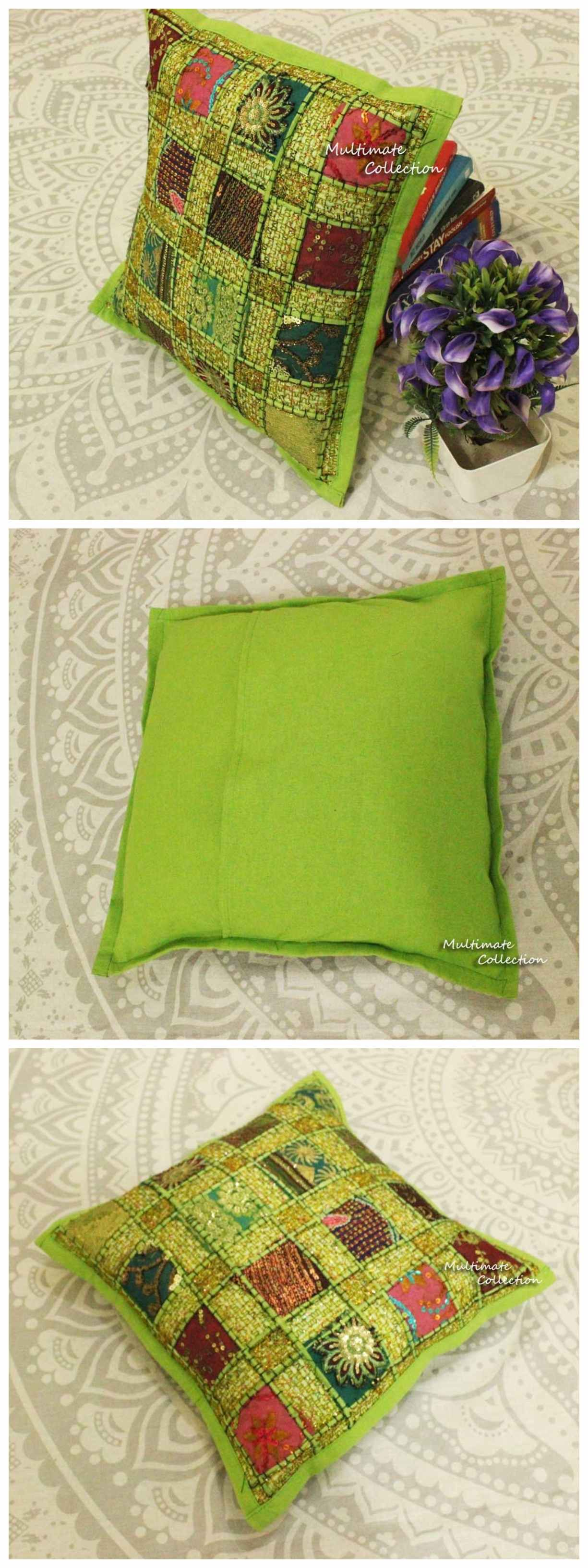 Decorative Pillow Is Perfect For Ethnic Home Decor Cushion Cover