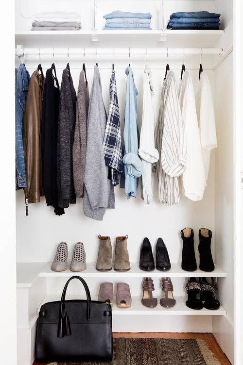 15 impressive minimalist wardrobe diy ideas in 2020 on extraordinary clever minimalist wardrobe ideas id=34284
