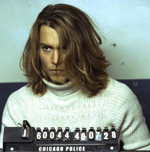 Johnny Depp From Blow Long Hair Styles Johnny Depp Long Hair Long Hair Styles Men