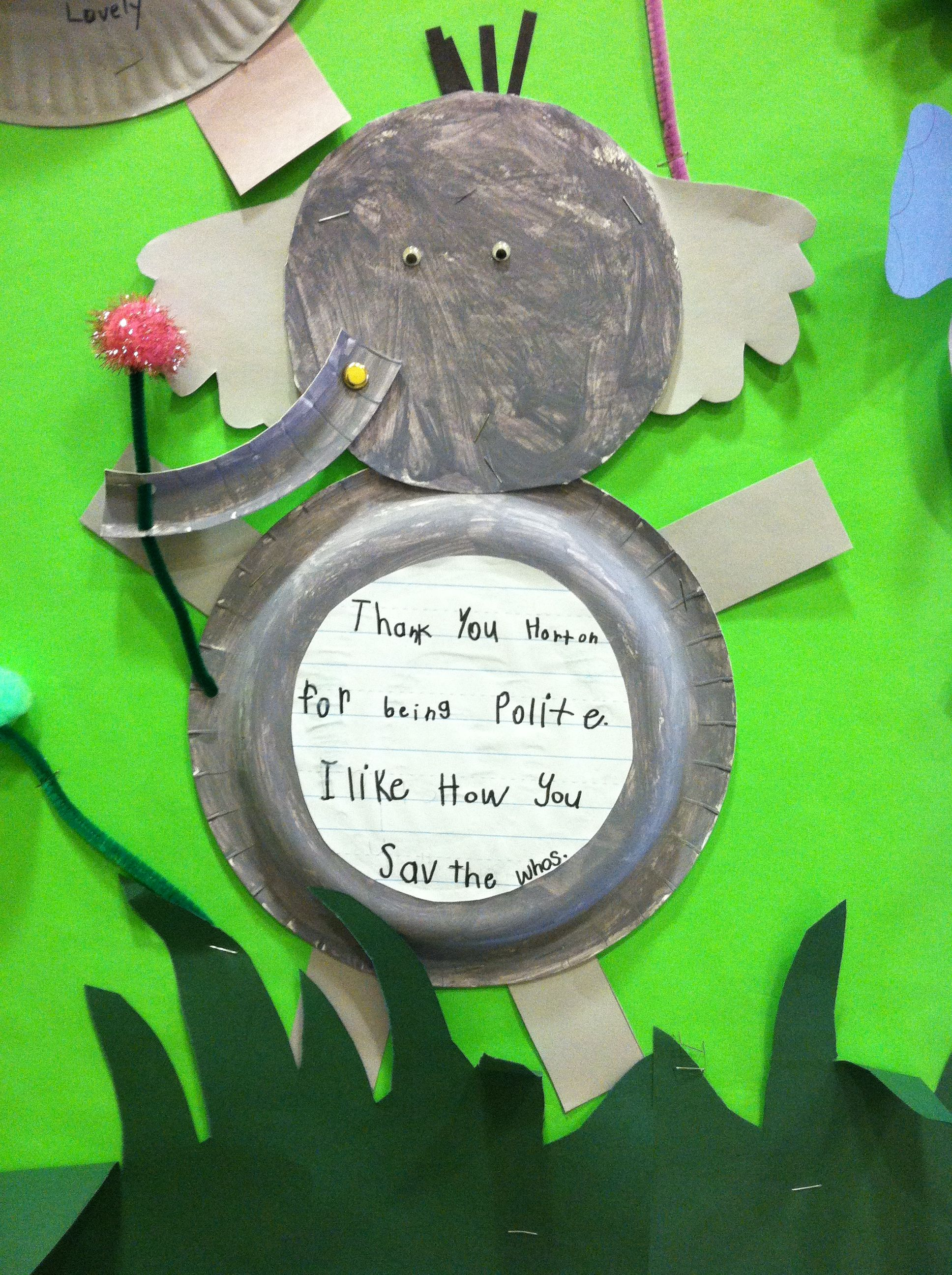 Horton Hears A Who Art Project